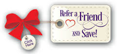 refer a friend and save