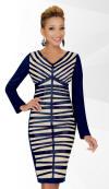 SA78451,Stacy Adams Designer Womens Dress Fall And Holiday Dresses 2014